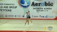 2016 世界健美操锦标赛 西班牙 混双