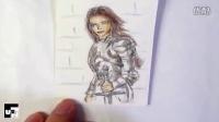 【广州FUN绘画工作室】女骑士的速绘画