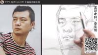 【中国美术视频网】李宪奇素描教学视频 男青年形体