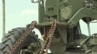 外国军事铁路运输装甲车和安装与卸车记实