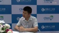 2016上海国际水展慧聪水工业网专访鹏凯环保王国彬先生