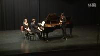 姜汉超 勃拉姆斯第一单簧管奏鸣曲 第二乐章 (萨克斯版)