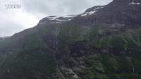 蒙蒙细雨中的挪威盖朗厄尔峡湾—Lucy君