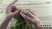 350---清凉镂空衫(2)猫猫编织教程 猫猫很温柔