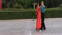 交际舞--【慢四】--范家屯胜利广场--葛.张--2012.9.7