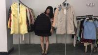 品牌冬装女款棉服呢大衣反季低价批发走份啦 50件一份 视频款仅此一份