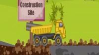 工程车挖掘机、搅拌车工作视频、吊车模拟作业视频