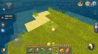 【十七解说】迷你世界实况生存P2:小麦种子抓鸡,螺旋式阶梯开矿