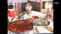 【臻美食】【韩国吃播】炸鸡少女shoogi吃辣年糕、金枪鱼饭、芝士条和鱼饼