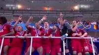 """2016法国欧洲杯决赛 葡萄牙加时赛绝杀法国 首次夺得欧洲杯冠军 欧洲杯新贵 C罗伤退""""躺赢""""  一贴剪"""