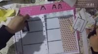 【狂躁症】plan with me (1) - happy planner 装饰