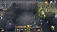 【十七解说】迷你世界实况生存P3:挖矿洞日常,偶遇地下岩洞