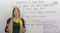 #3LISTENING & UNDERSTANDING in 3 Easy Steps