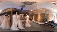 360 VR 全景 虚拟现实 新娘是如何挑选婚纱?VR带你走进更衣室和她一起挑选