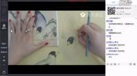手绘教学-工笔类手绘花鸟---璐黎