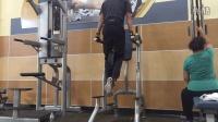 从瘦子到型男大变身!小伙记录一年健身成果太励志!