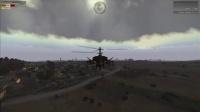 武装突袭3 演示 教学 中文 解说  操作 gunship 多用途 直升机 视频