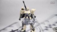 Zaku 049 -万代MG MS-06K 扎古加农 (独角兽版) (完成评测)