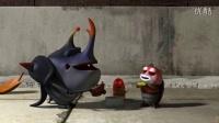 larva臭屁虫-修身养性-乐在其中-卡通动画短片