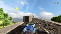 VR四轴赛车——城市废墟