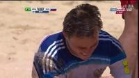 葡萄牙沙滩足球世界杯半决赛 巴西对阵俄罗斯
