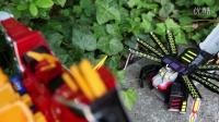 《咯咯玩具》玩具:[第4季] 玩具死亡竞赛 2集:魔幻车神 vs 兽电战队强龙者 强龙神