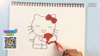 【可乐姐姐学画画】Hello Kitty
