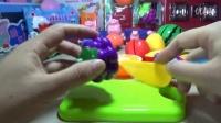 创意玩具游戏:切水果 小火车托马斯与小猪佩奇玩耍★少儿卡通动漫亲子益智早教★