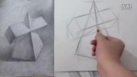 几何体素描视频教程—德彦艺术—合肥成人美术培训-素描入门