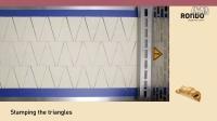 RONDO瑞士龙都Cromaster牛角包生产线 (可选包馅、自动折弯)