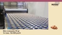 RONDO瑞士龙都工业级牛角解决方案 - Rondo CS牛角面包工业生产线