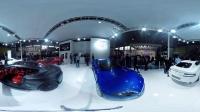 【vr王同学】3D全景阿斯顿马丁展台vr虚拟现实左右格式