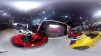 【vr王同学】3D全景法拉利展台vr虚拟现实左右格式