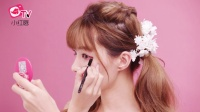 小红唇TV第一期:日本最IN楚楚可怜的兔眼妆