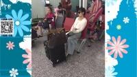"""刘涛""""霍如""""婚礼返程面露倦容 范冰冰扭头避镜头 160801"""