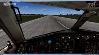 模拟飞行:顺丰B752F着陆长沙黄花机场~~~