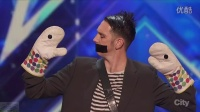 America's Got Talent 2016 Tape Face Incredibly Inventive Comedy Act Full Auditio