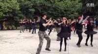 张玉龙金琳教跳第七套(北京水兵舞)西安水兵舞蹈团专用