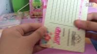 小花仙开封3包名信片3包卡抽上次开封中断很抱歉