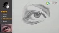 央美朱传奇:传奇绘画课堂应试篇——眼睛素描结构(三)10