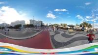 【360全景看里约奥运2016】- 科帕卡瓦納 (Copacabana) 醉美海滩