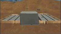轻钢别墅平板地基建房基础