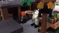 乐高我的世界积木:村庄的定格动画
