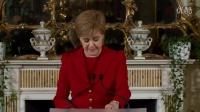 """苏格兰首席大臣在官邸就""""脱欧结果""""开记者招待会(24Jun16)"""