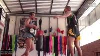格锐搏击会馆-泰拳初级和高级膝击训练