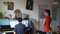 声乐教学大师课:我爱你中国-作品演唱教学 02