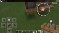 MinecraftPE红石从0开始教程十六 一按钮双开门 小桃子