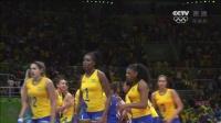 [全场回放]女排1/4决赛 巴西VS中国 1080P