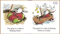 02 Floating Goat