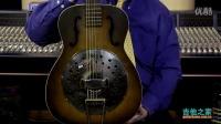 1930s Dobro Resonator Slide Round Neck Guitar - Brownburst